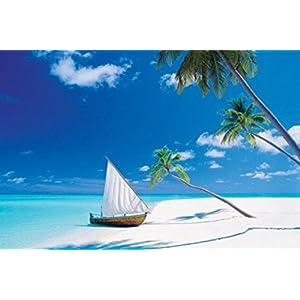 1art1 49669 Inseln - Das Verborgene Paradies Poster 91 x 61 cm
