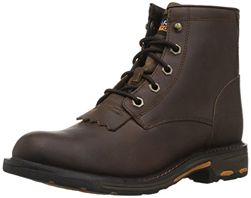 Ariat Unisex Workhog Lacer Western Boot, Brown, 12 M US Little Kid Ariat Lacer Boots