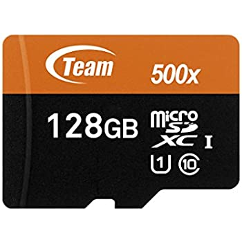 Team Group Micro SD 2 GB con Adaptador SD Tarjeta de Memoria 128 GB Class 10 UHS-I Grade 1
