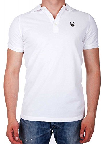 Dsquared2 Polo T-Shirt Weiß