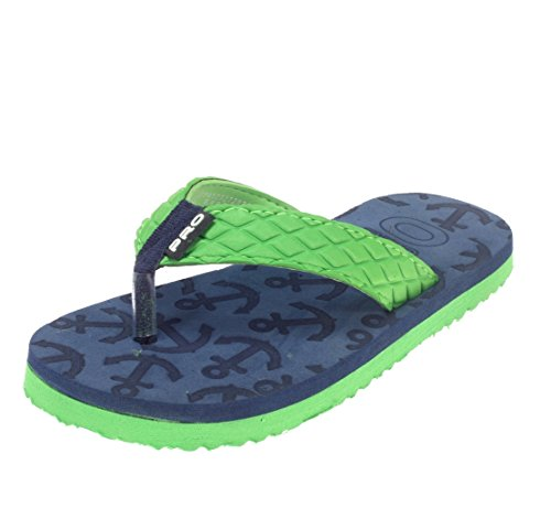 Pro (from Khadim's) Boys Green Synthetic Slippers - 5  available at amazon for Rs.249