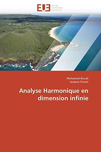 Analyse Harmonique en dimension infinie