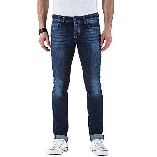 Meltin' Pot Herren Skinny Jeans Misfits Denim Blue