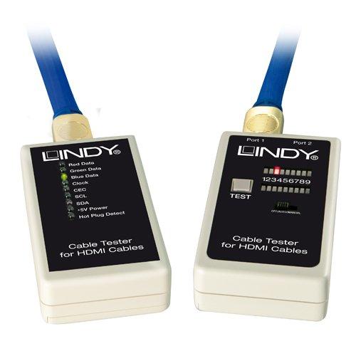 Hdmi-kabel-tester (LINDY 43062 - Kabeltester für HDMI Kabel)