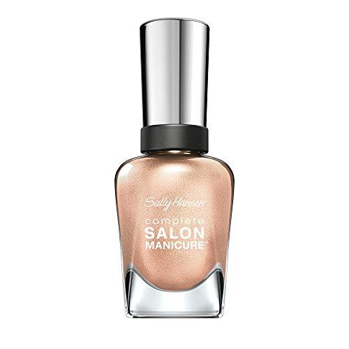 Sally Hansen Complete Salon Manicure Nagellack, Farbe 216, You Glow, Girl, goldschimmer, 1er Pack (1 x 15 ml)