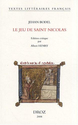 Le jeu de saint Nicolas par Albert Henry