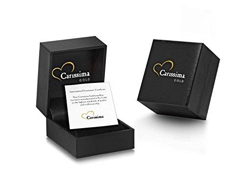 Carissima Gold - Bague entrelacs - Or jaune 9 cts - Oxyde de Zirconium Or rose