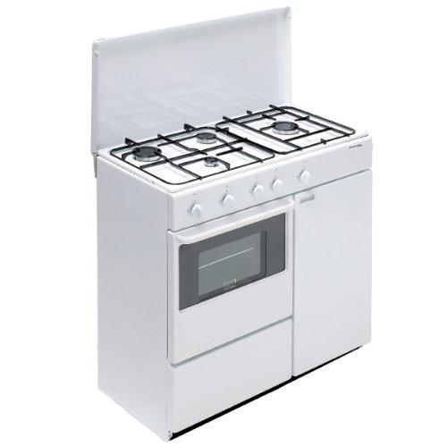 Bompani BI960YA/L Autonome Cuisinière à gaz Blanc four et cuisinière - fours et cuisinières (Autonome, Blanc, Rotatif, Devant, Cuisinière à gaz, Gaz naturel)
