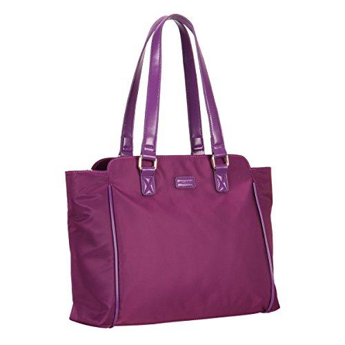 Veevan Sacs à main en Nylon Imperméable pour Femme (Bleu foncé) Violet