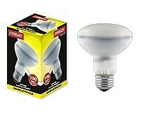 10x Reflector R80 100 Watt Light Bulbs ES E27 Large Screw Cap Lamps 100w by Eveready
