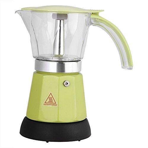 VBESTLIFE Espresso Kaffeemaschine,300 ml / 6 Tassen Elektrische Espressomaschine,Moka Topf...