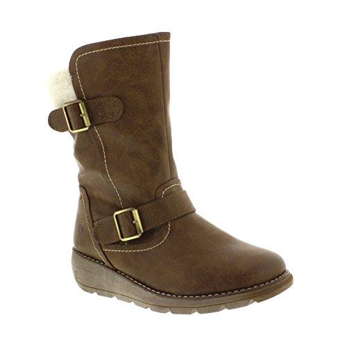 <span class='b_prefix'></span> Heavenly Feet Pacific 2 - Brown (Man-Made) womens Boots
