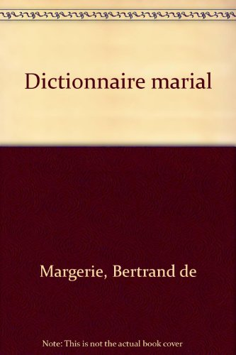 Dictionnaire marial
