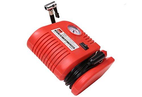 UNIVERSALER PRAKTISCHER MINI KOMPRESSOR Auto PKW Fahrrad Motorrad Reifen Kompressor Luftkompressor Druckluft Pumpe Luftpumpe 12V 18 bar 260 PSI