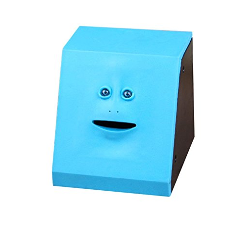 Deanyi Geld Essen Gesicht Box Nette Facebank Piggy Münzen Bank Funny Money Münzbox Home Product