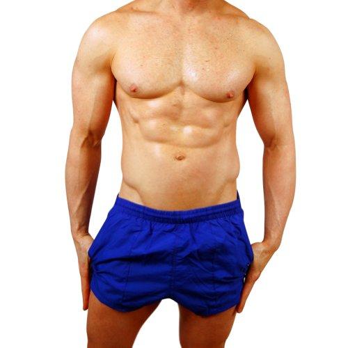 Mens New Windsurfer Swimsuit Trunk by Gary Majdell Sport (Royal