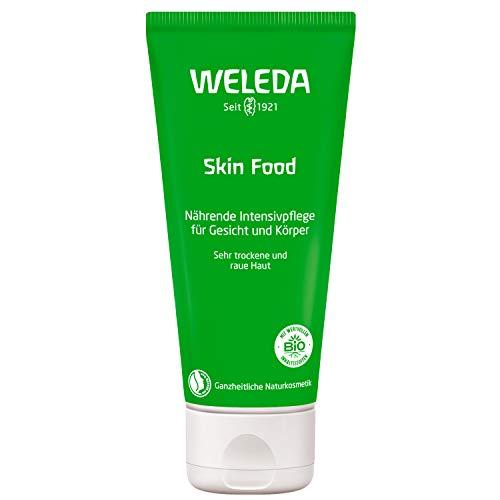 WELEDA Hautcreme Skin Food, reichhaltige Naturkosmetik Körpercreme zur Pflege von rauer, trockener und spröder Haut an Füßen, Händen...