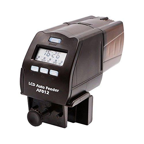 Eshen Alimentador Automático de Peces, Digital Dispensador de Comida con LCD pantalla Temporizador para Acuario