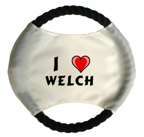 personalised-dog-frisbee-with-name-welch-first-name-surname-nickname