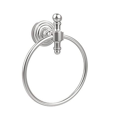 Allied Brass RW-16-SCH 6-Inch Towel Ring, Satin Chrome by Allied Brass