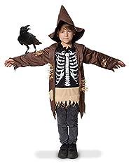 Idea Regalo - Folat 63275spaventapasseri scheletro tuta per bambini (taglia 116–134)