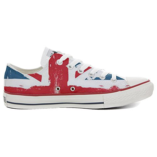 Converse All Star Chaussures Coutume (produit artisanal) England