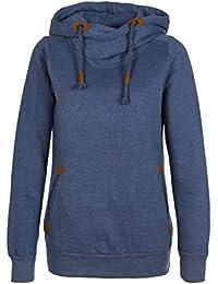Sublevel Sweatshirt Kapuzenpullover sportlich-elegant