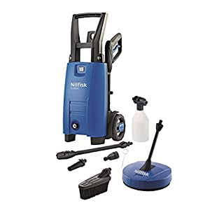 Nilfisk C110 4-5 PCA X-Tra Pressure Washer and Patio Cleaner Set with 1400 W Motor