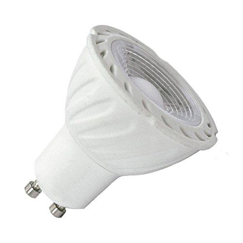 Vision-EL 77855 Ampoule LED Spot, Aluminium/PC, GU10, 5 W, Blanc