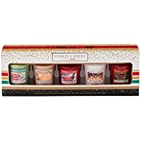 Yankee Candle Set Regalo Festa, 5 Votive Gift Set
