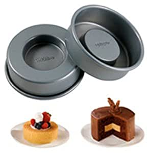 Wilton 2105-155 Mini Tasty Fill 4-Piece Pan Set Color: Classic