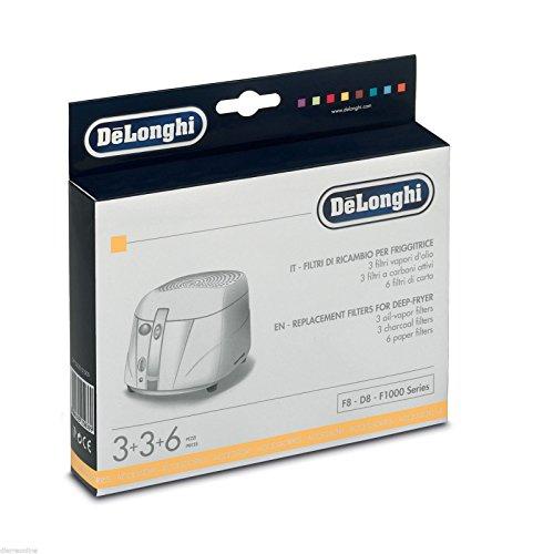 Kit Filter Filter Fritteuse de Longhi 5525101500F8-D8-F1000Series