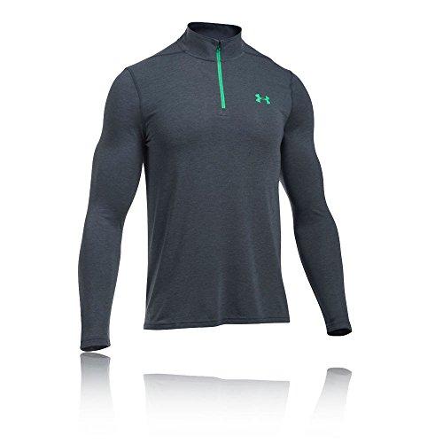 Under Armour HeatGear Threadborne 1/4 Zip Trainingsshirt Herren Grey