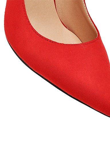 WSS 2016 chaussures printemps / été / automne / hiver talons / gladiator / nouveauté / pointu orteil heelswedding / partie des femmes black-us6.5-7 / eu37 / uk4.5-5 / cn37