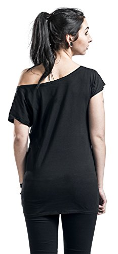 Bring Me The Horizon Cursed Girl-Shirt Schwarz Schwarz