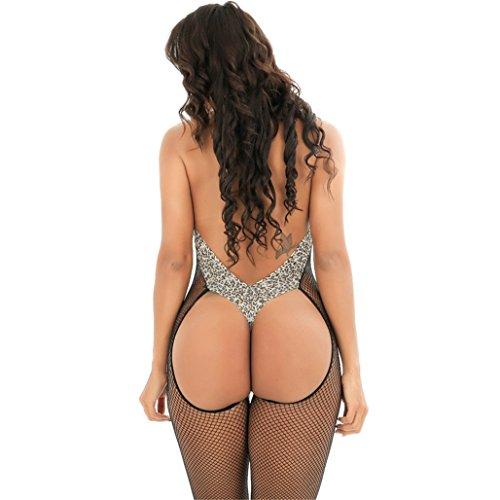 Calze autoreggenti Completi Intimi Prospettiva ,Donna Bodystockings Sexy Intimo , Donne Pizzo Un Intimo Aperto Cinturino Petto Lingerie Sexy