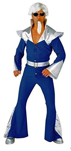 Disco Kostüme Mama (Disco Partymann Space 70er 80er Jahre Mamma Mia Mottoparty)