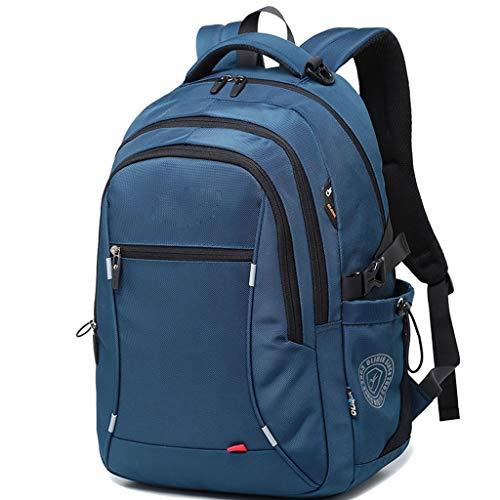 LYM-bag Anti - Diebstahl Rucksack, modische Trend Business Casual Wasserdichte Reise Student Computer Tasche blau
