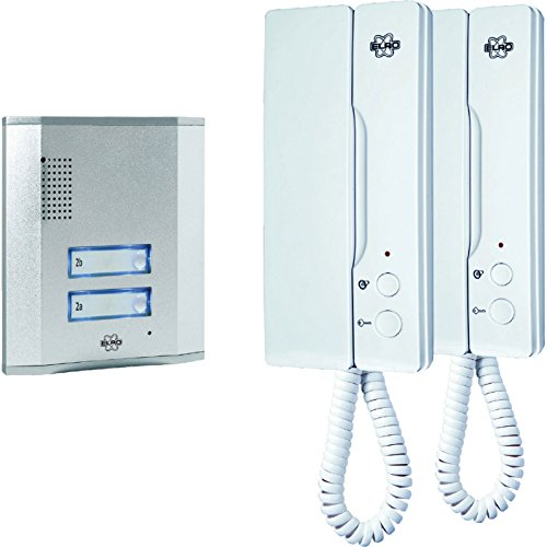 Advanced Byron Audio Door Intercom Kit for 2 Apartments 240v [Pack of 1] --