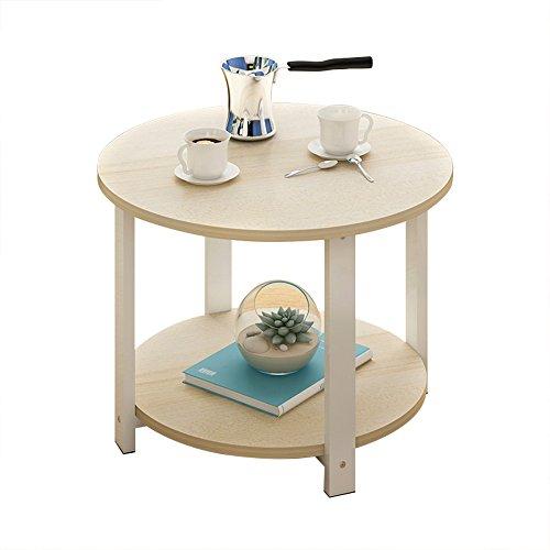 C-T-G Table de Chevet Table Basse Table Ronde Table Ronde Table d'appoint latérale (Couleur : H)