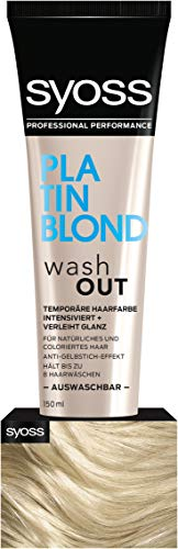 Syoss Wash Out Platin Blond Stufe 0, 2er Pack (2 x 150 ml)