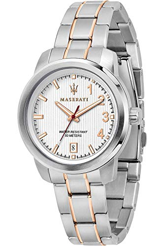 Maserati Polo Womens Analogue Quartz Watch with Stainless Steel Bracelet R8853137504