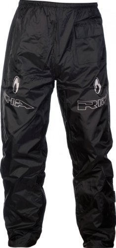 Richa Rain Warrior - Motorrad Regenhose - Überhose - Schwarz - L