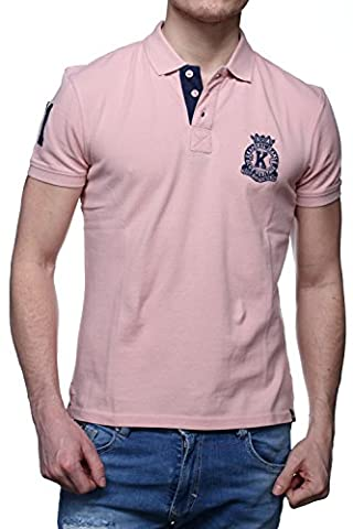 Kaporal - Polo Titus Dust Pink - Couleur Rose - Taille XXL