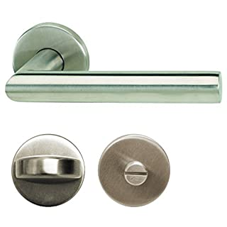 ALPERTEC Moscow II Rosette Ganitur Door Fitting Stainless Steel – From e-Hardware, 28020530