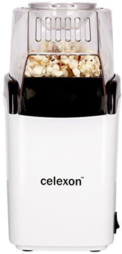 celexon CinePop CP150 Popcornmaschine, weiß, 30 x 15 x 15cm, 800g, fettarm