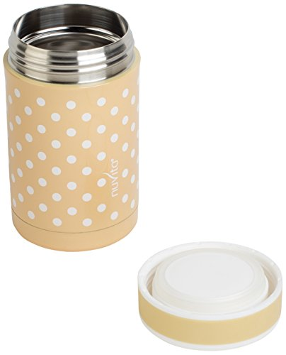 Nuvita 1472 - Thermos, 500 ml, colore: beige