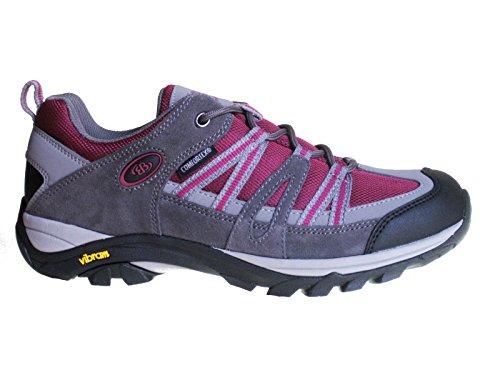 Brütting Tornado 211117 Damen Trekking-Wander-Outdoorschuhe EB25 Grau Pink