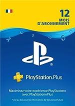 PlayStation Plus - Abonnement de 12mois | Code Jeu PSN - Compte français