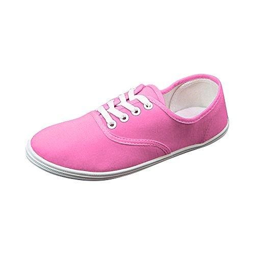 5a4bb1f6d90f4 Sport Toile Chaussure Léger En Sneakers Baskets Rosepeche Basse Mode Femme  De Ochenta Tennis n0qz4wTnp